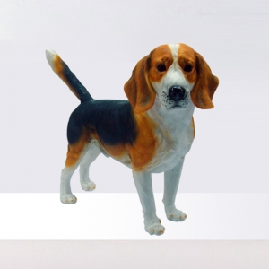 Resin Beagle Dog