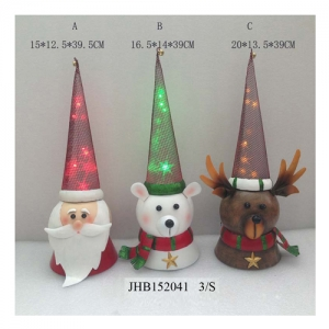 Iron Santa Claus Christmas LED Light