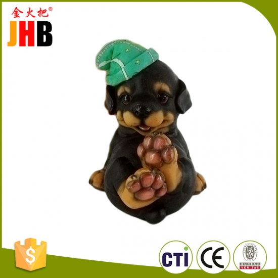 polyresin dog animal statues